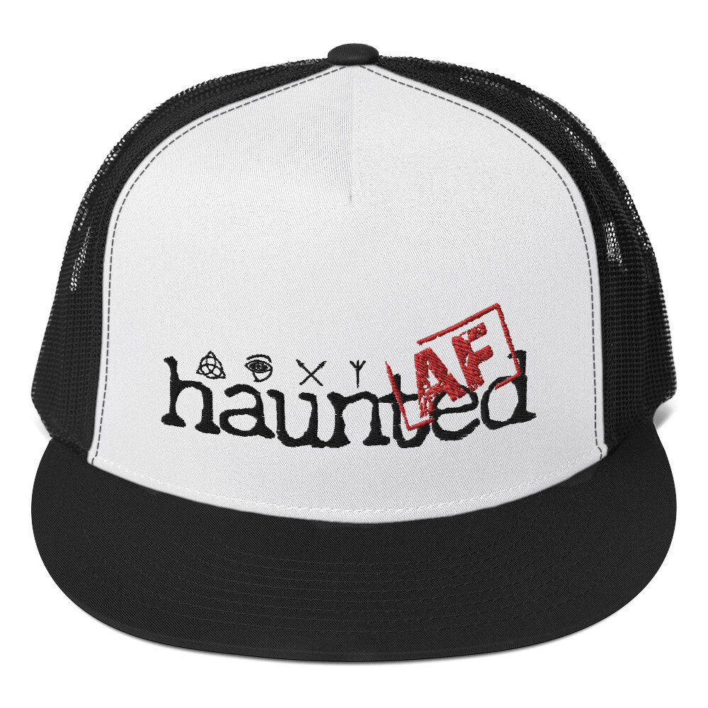Haunted AF Trucker Cap