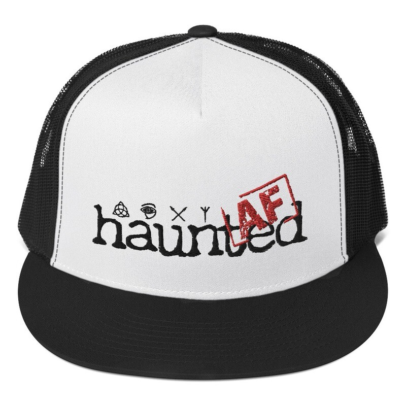 Haunted AF Trucker Cap
