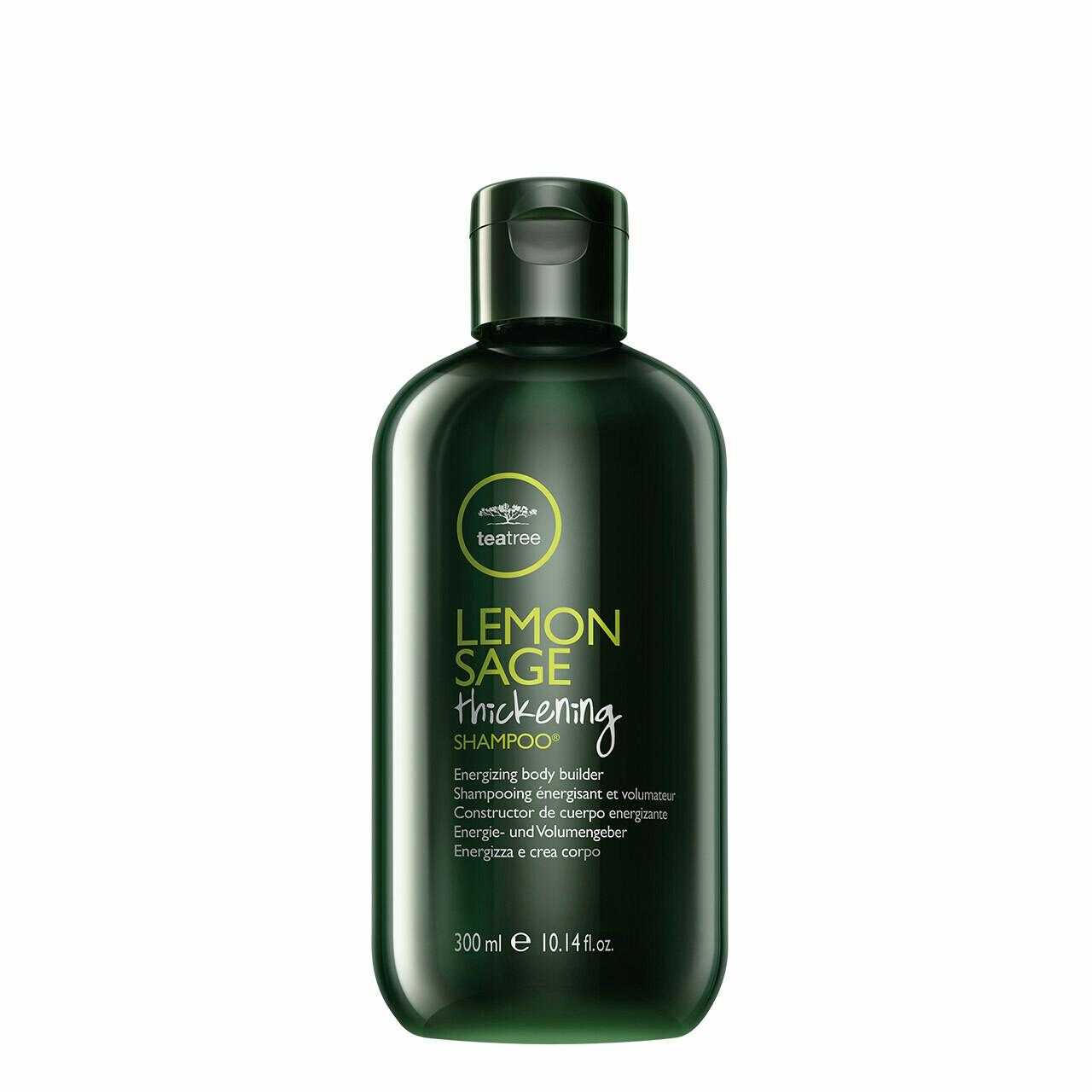 Lemon Sage Thickening Shampoo 300ml