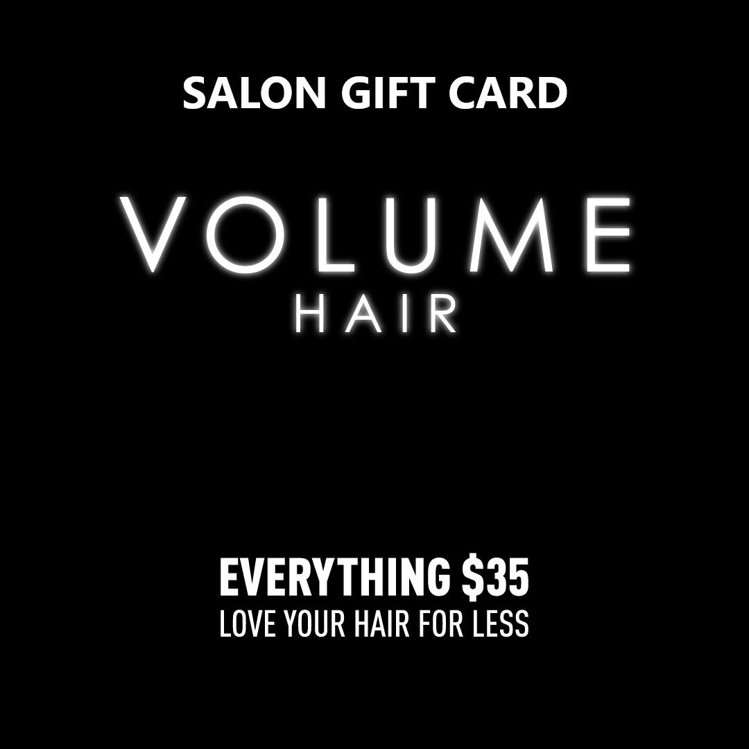 Salon Gift Card $300