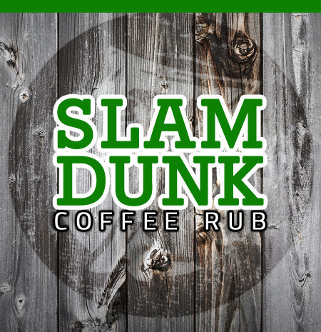 Slam Dunk Coffee Rub