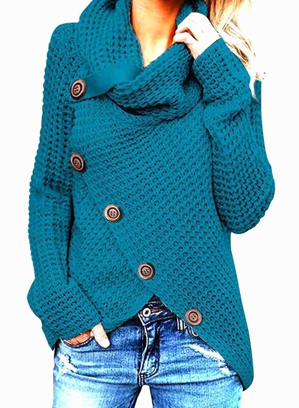 Women Chucky Crohet Sweater Xl
