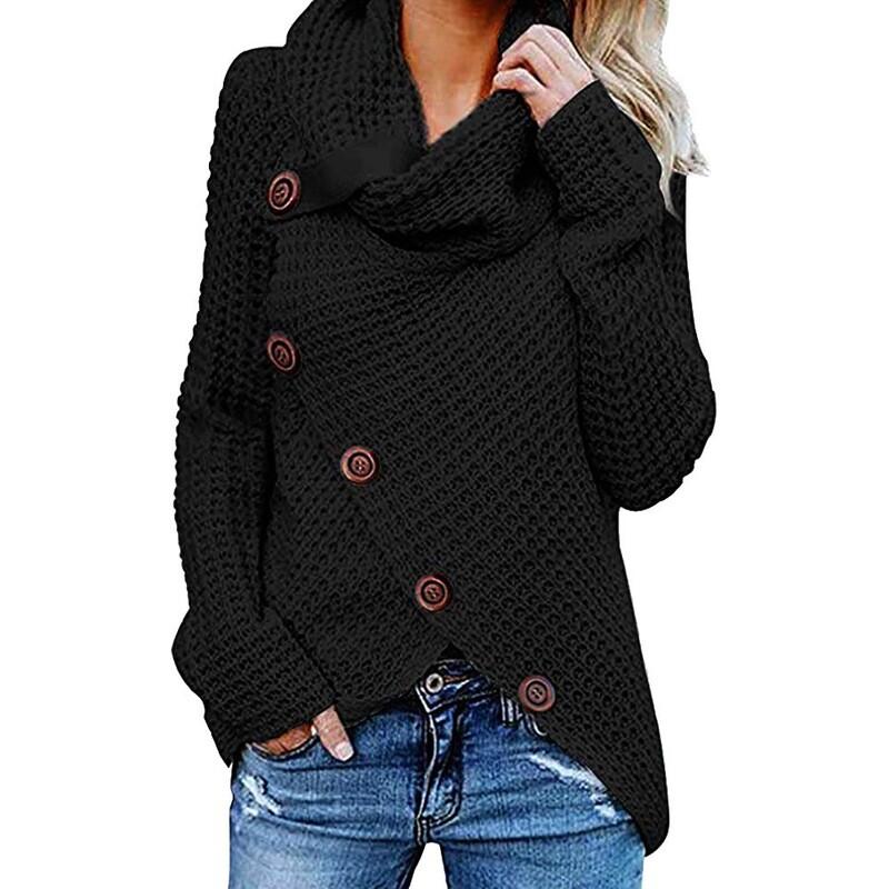 Women Chucky Crohet Sweaters XL