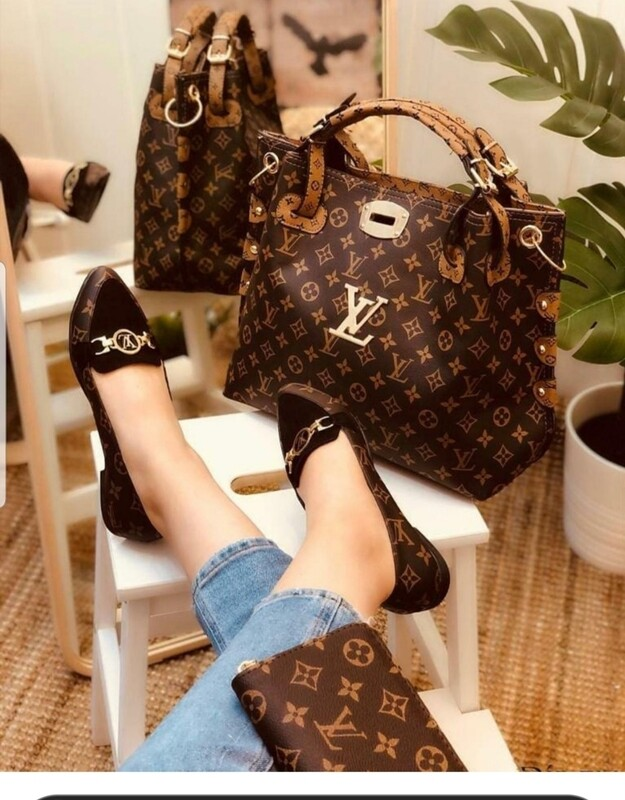 Classic fashion  Two Piece  Bag and wallet