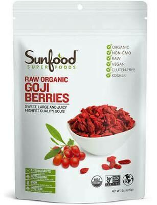Goji Berries raw organic