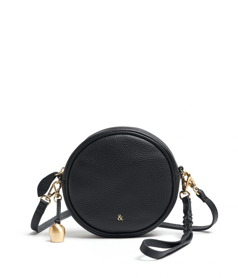 Bell & Fox MIA mini Canteen Bag Black Leather