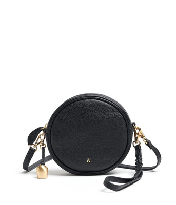 Bell & Fox MIA mini Canteen Bag Black Leather