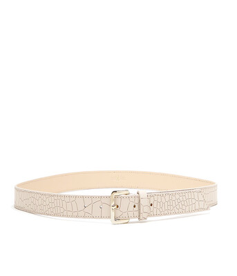 Bell & Fox ERIN Belt - Croc Powder