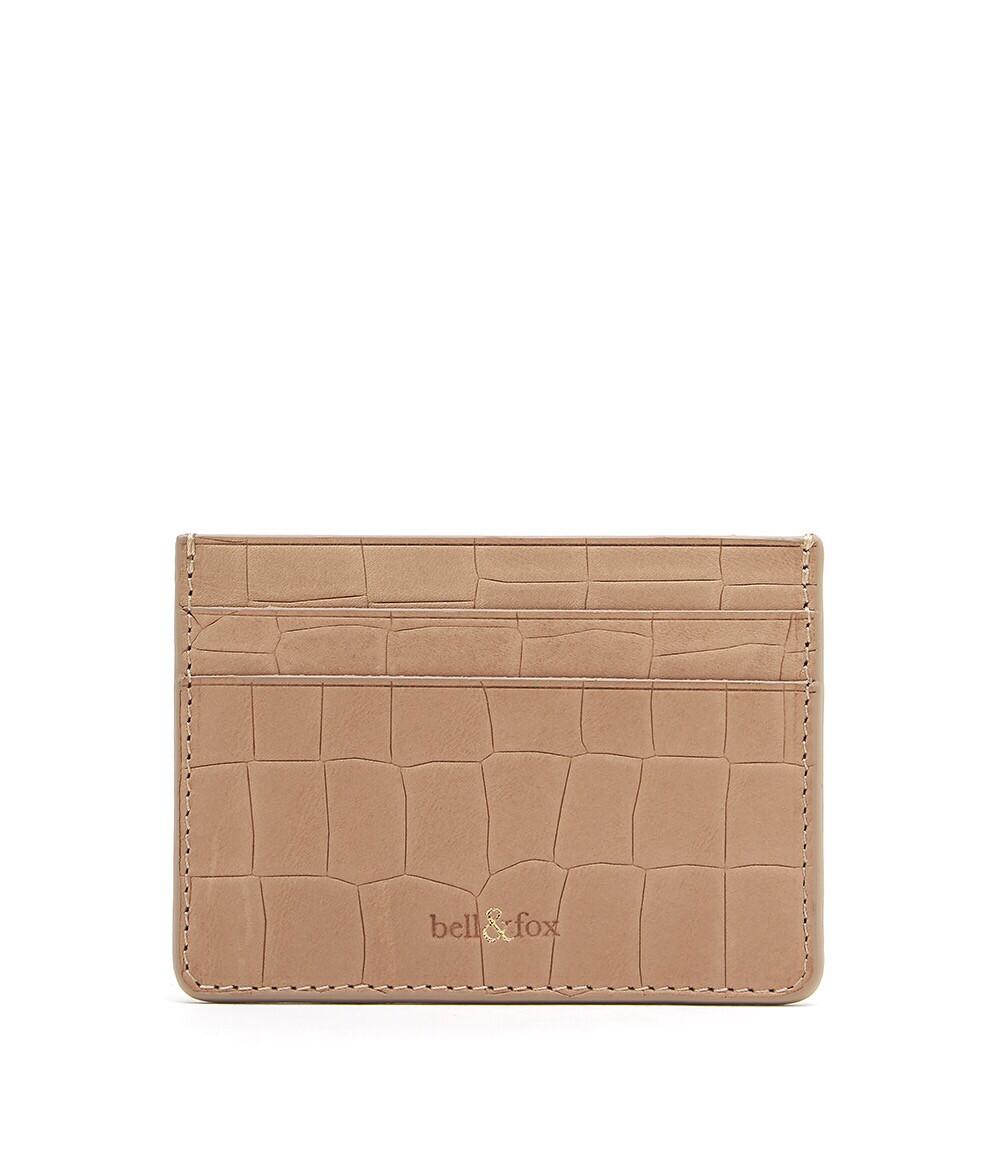 Bell & Fox RUMI Card Holder - Croc Camel