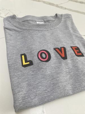 Kids Love T Shirt - Multi