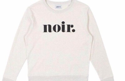 Love Sweat & Tees Noir Sweatshirt - Cream
