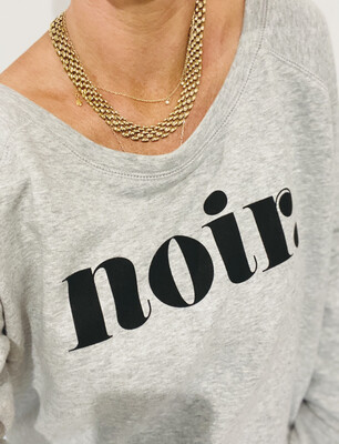 Love Sweat & Tees NOIR Sweatshirt - Grey