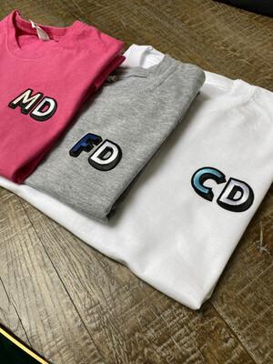 Initial Ladies T Shirt