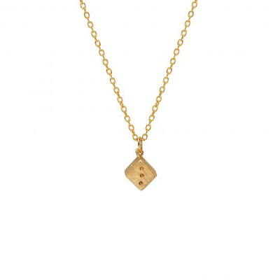 Mirabelle - Lucky Dice Charm Necklace