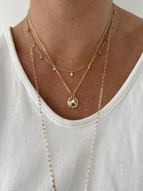Mirabelle - Horse Shoe Charm Necklace