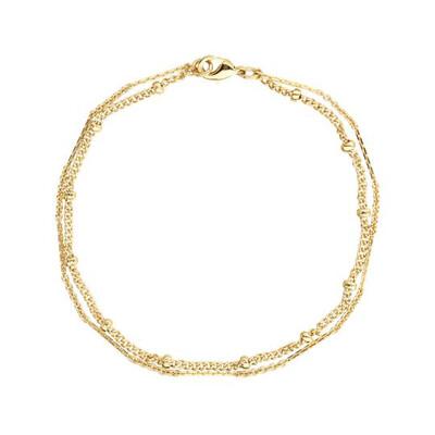 Mirabelle - Multi Strand Chain Bracelet
