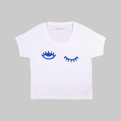 Love Sweat & Tees Eyes On The Prize Tee - White
