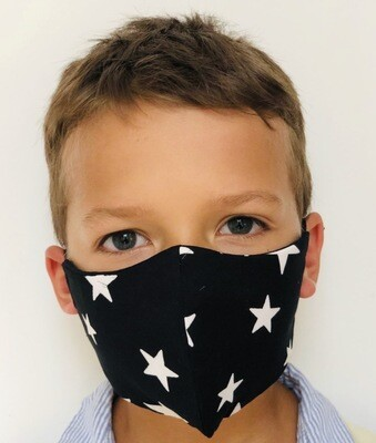 Kids Star Print Mask