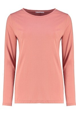 Ivy - Layla Crew Neck Long Sleeve - Dusty Rose