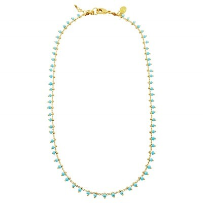 Laviandbelle- Andes Necklace - Turquoise