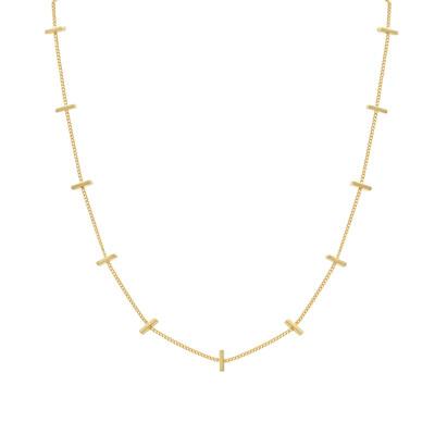 Laviandbelle - Gold Bar Necklace