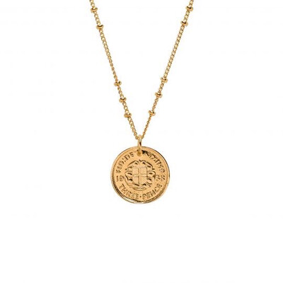 Mirabelle - Lucky Penny Charm Necklace