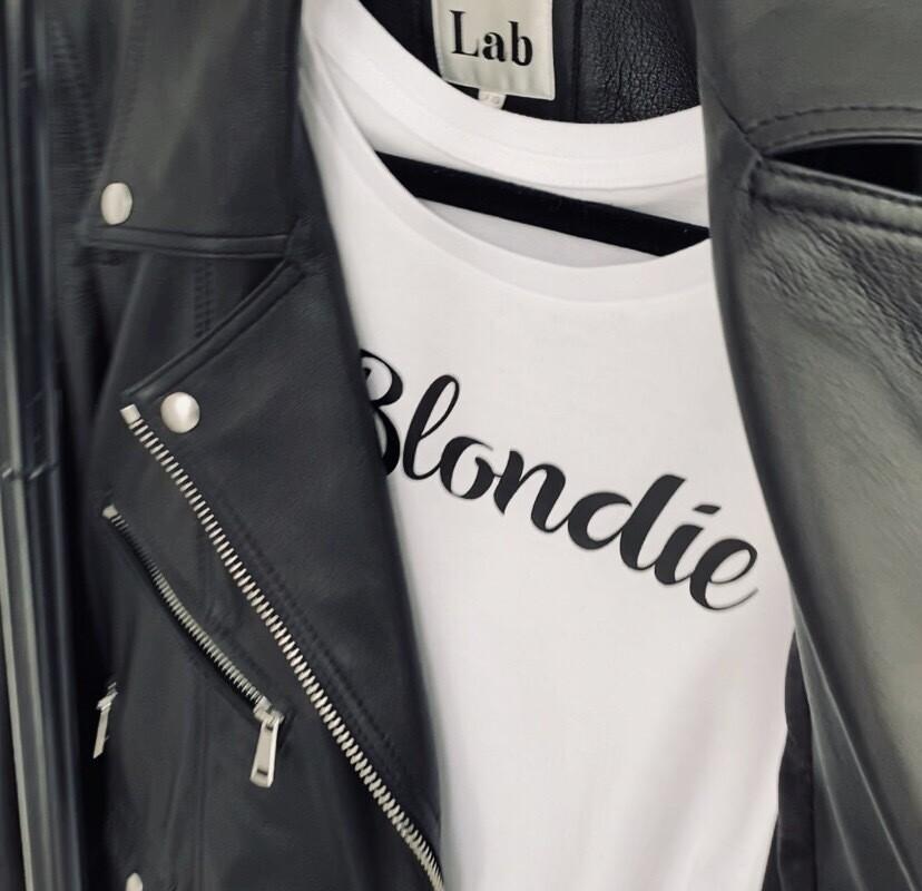 Blondie T Shirt - White