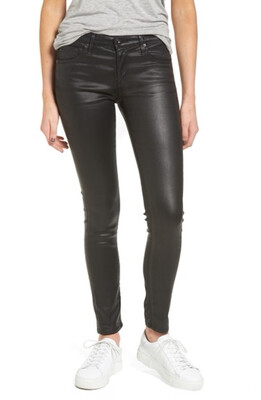 Stretch Leather Jean