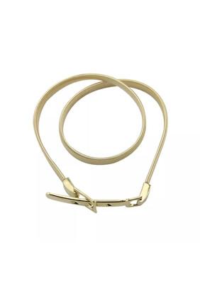 Chain Elasticated Belt - Gold