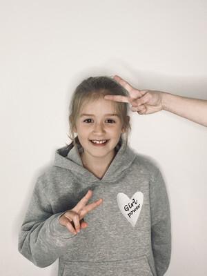 Girl Power Embroidered Sweatshirt