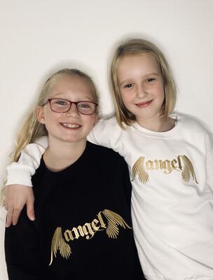 Angel Embroidered Sweatshirt