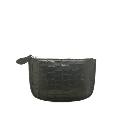 Bell & Fox FAYE leather Purse - Black Croc
