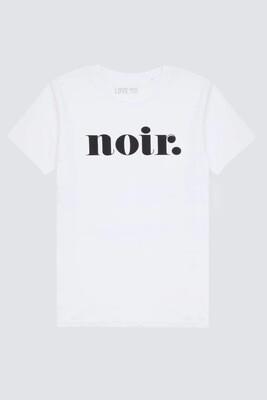 Love Sweat & Tees Noir Boyfriend T -white
