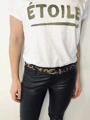 Bell & Fox ERIN Belt Studded - Leopard