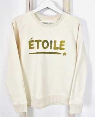 Love Sweat & Tee's Etoile Sweatshirt - Ecru