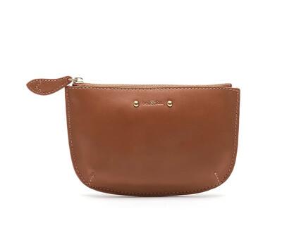 Bell & Fox FAYE leather Purse - Tan Stud Nappa