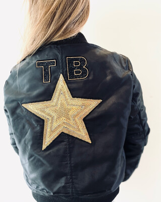 Bomber Jacket With Star
