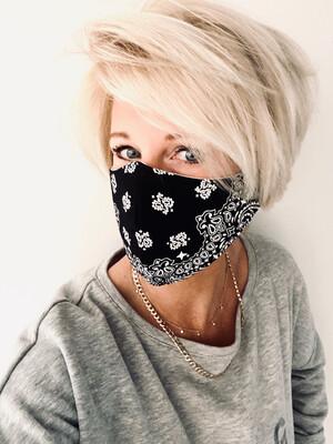 Adults Non Medical Face Covering - Bandana Print