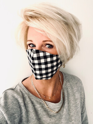 Adults Non Medical Face Covering - Check