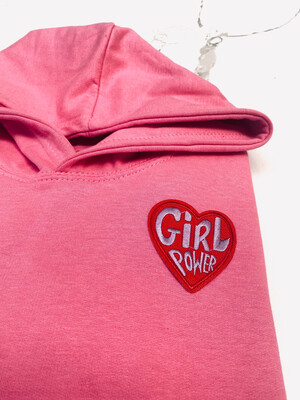 Girl Power Embroidered Hoody