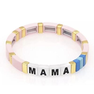 Laviandbelle - Rainbow Tile Bracelet - LOVE