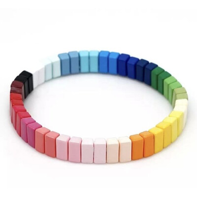 Laviandbelle - Rainbow Tile Bracelet