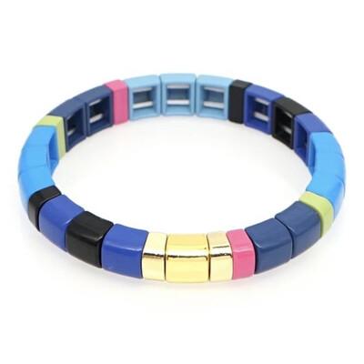 Laviandbelle - Blue Tile Bracelet
