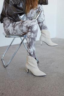 Tie Dye Jeans - Grey