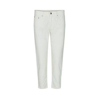 Mid Rise Jeans - White