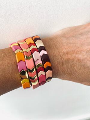 Summer Tile Bracelets - Multi