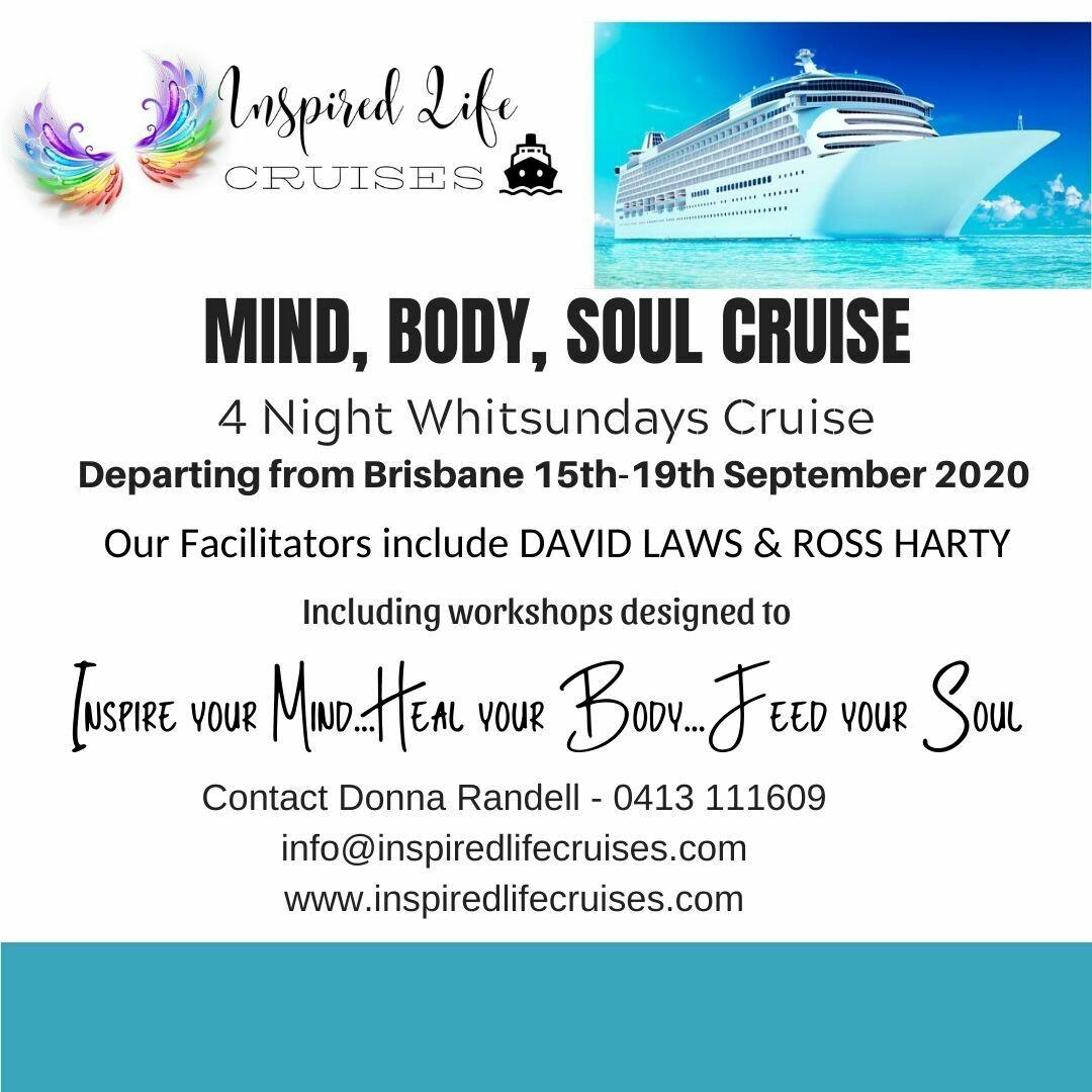 'MIND, BODY, SOUL' Cruise