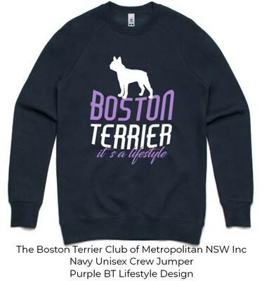 Unisex Standard Crew Jumper - Boston Terrier Lifestyle Designs