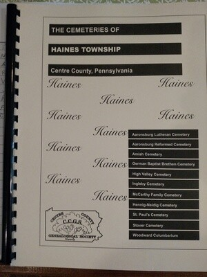 The Cemeteries of Haines Township
