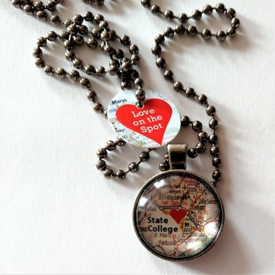 Love on the Spot Necklace - State College